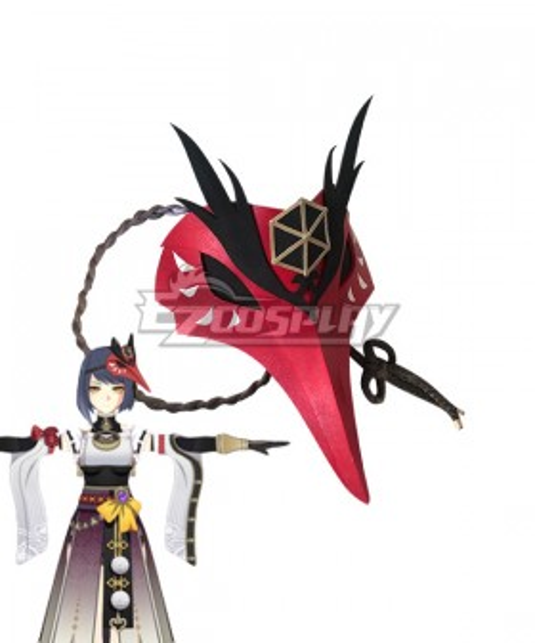 Genshin Impact Sara Headwear Mask Cosplay Accessory Prop