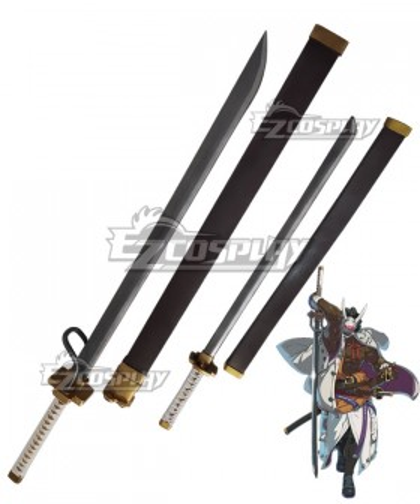 Guilty Gear STRIVE Nagoriyuki Knife Cosplay Weapon Prop