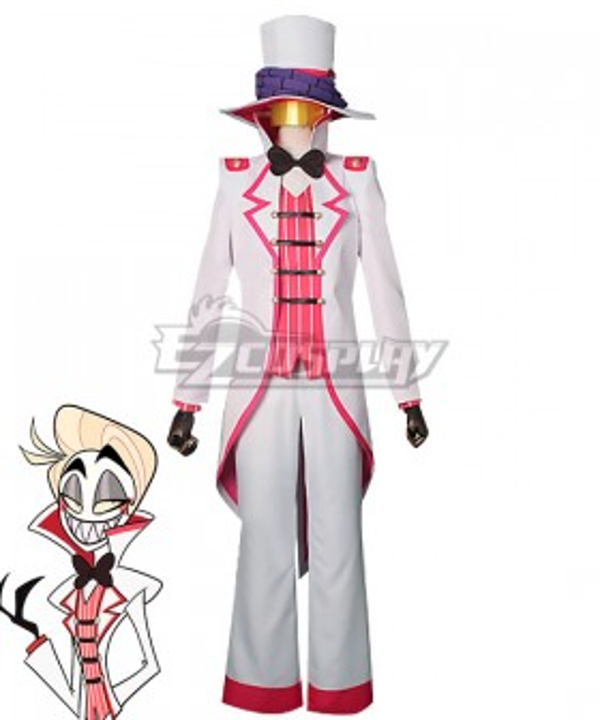 Hazbin Hotel Lucifer Cosplay Costume