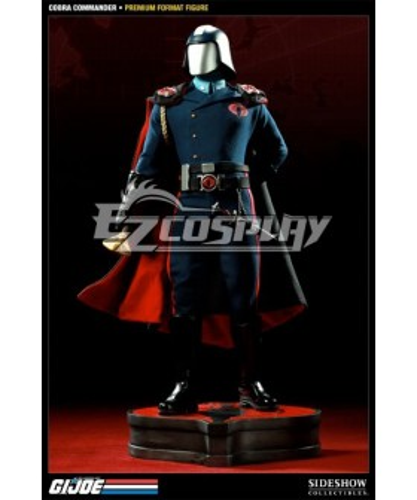 G.I. Joe series Cobra Commander Cosplay Costume