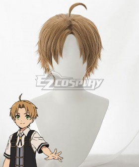 Mushoku Tensei: Jobless Reincarnation Rudeus Greyrat Golden Cosplay Wig
