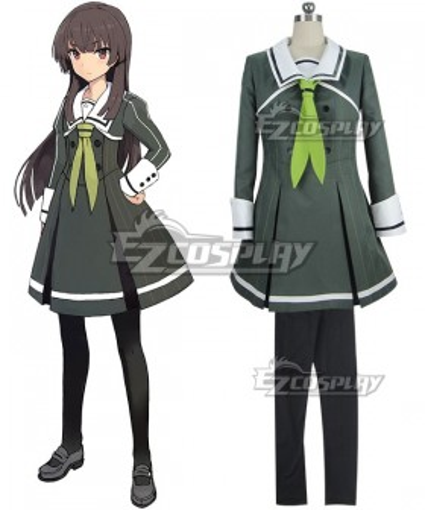 Katana Maidens Toji No Miko Hiyori Juujou Cosplay Costume