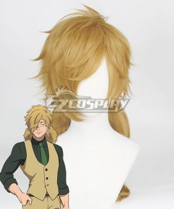 Kemono Jihen Kohachi Inugami Golden Cosplay Wig
