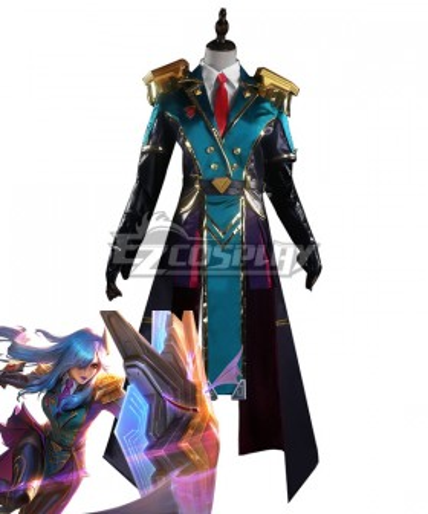 League of Legends LOL Battle Academia Leona Cosplay Costume