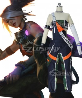 League of Legends LOL True Damage Akali Cosplay Costume