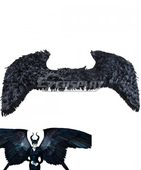 Maleficent: Mistress of Evil 2019 Movie Maleficent Headgear Halloween Black Wing Cosplay Accessory Prop