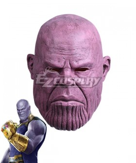 Marvel 2018 Avengers 3: Infinity War Thanos Halloween Mask Cosplay Accessory Prop