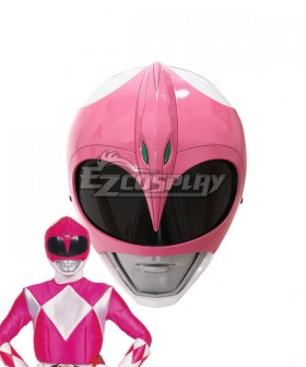 Mighty Morphin Power Rangers Pink Ranger Helmet Cosplay Accessory Prop