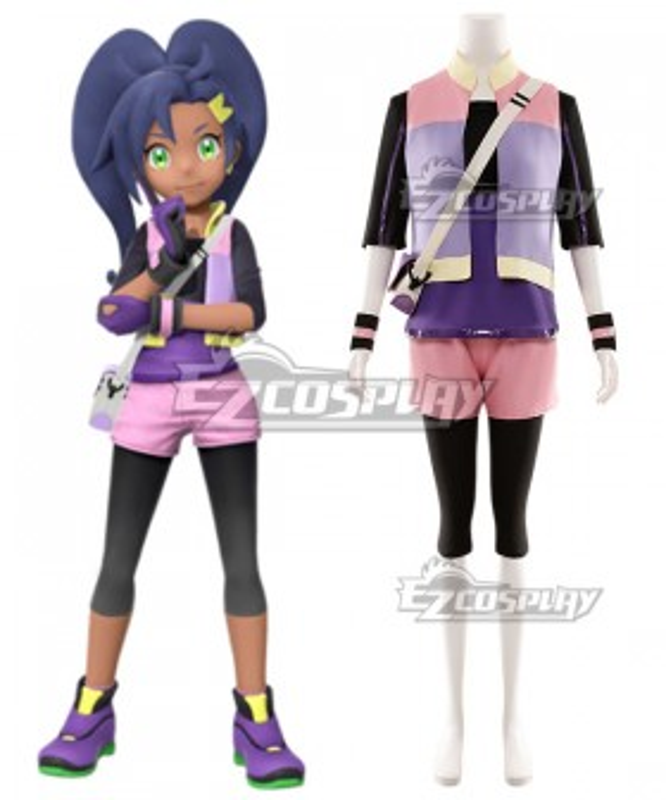 New Pokemon Pokémon Snap Rita Cosplay Costume