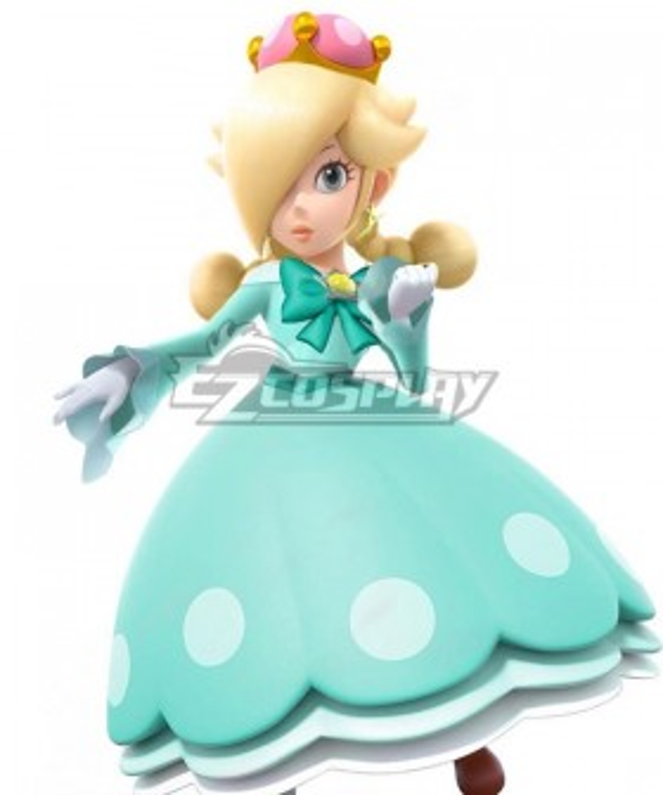 New Super Mario Bros. U Deluxe Rosalina Cosplay Costume