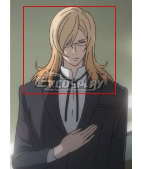 Noblesse Frankenstein Golden Cosplay Wig