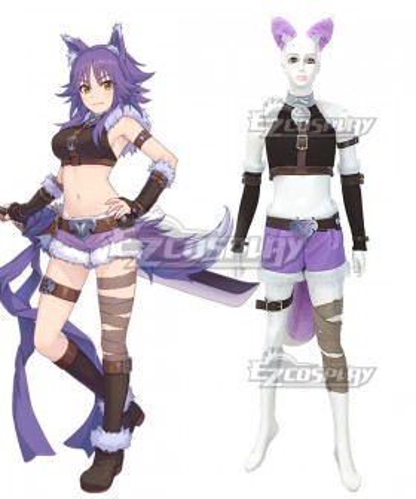 Princess Connect! Re:Dive Makoto Aki Cosplay Costume
