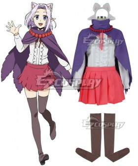 Recovery of an MMO Junkie Net-juu no Susume Lilac Cosplay Costume