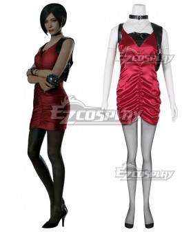 Resident Evil 2 Remake Ada Wong New Edition Cosplay Costume