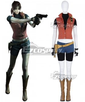 Resident Evil The Darkside Chronicles Claire Redfield Cosplay Costume