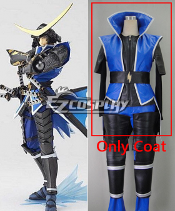 Sengoku Basara 3 Date Masamune Cosplay Costume - Only Coat