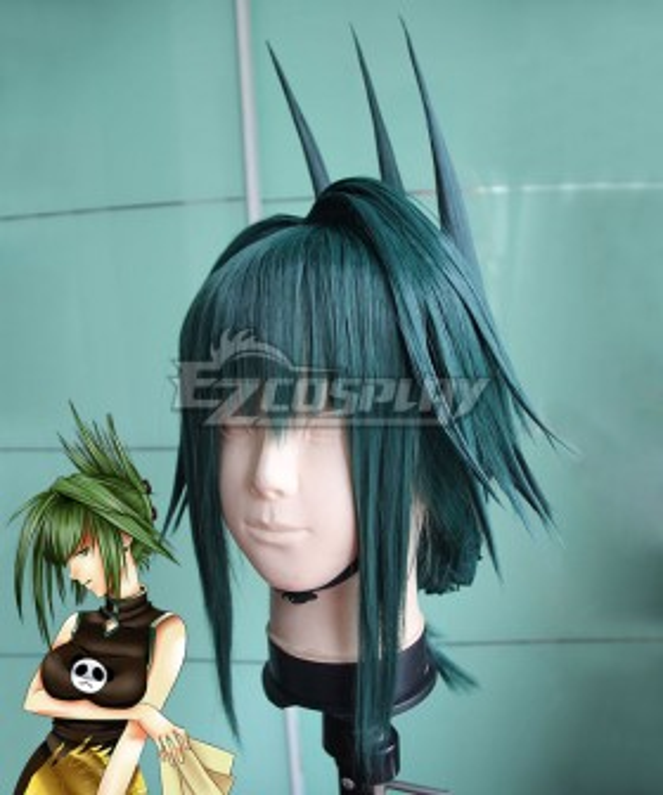 Shaman King Tao Jun Green Cosplay Wig