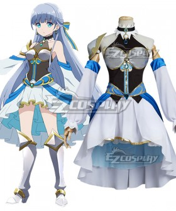 Shironeko Project Zero Chronicle Queen of Light Iris Cosplay Costume