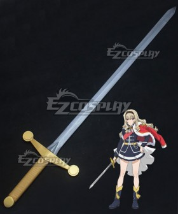 Shoujo Kageki Revue Starlight Claudine Saijou Sword Cosplay Weapon Prop