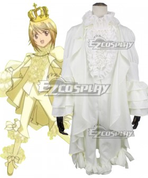 Shugo Chara Tadase Hotori Platinum Royal Cosplay Costume