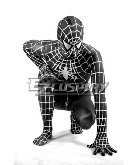 Marvel Spiderman Black Cosplay Costume