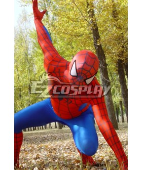 Marvel Spiderman Classic Suit Cosplay Costume