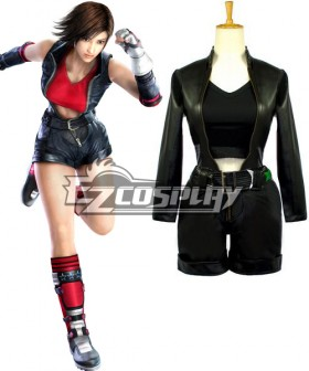 Tekken Asuka Kazama Black Dress Cosplay Costume