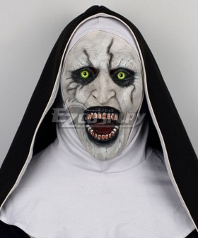 The Conjuring 2 Nun Halloween Mask Cosplay Accessory Prop