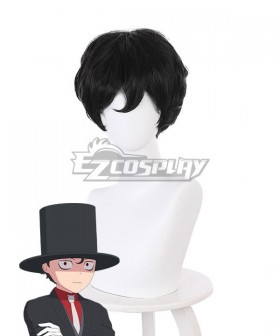 The Duke of Death and His Maid Bocchan Black Cosplay Wig