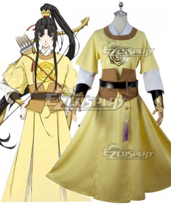 The Grandmaster of Demonic Cultivation Mo Dao Zu Shi Jin Ling Cosplay Costume