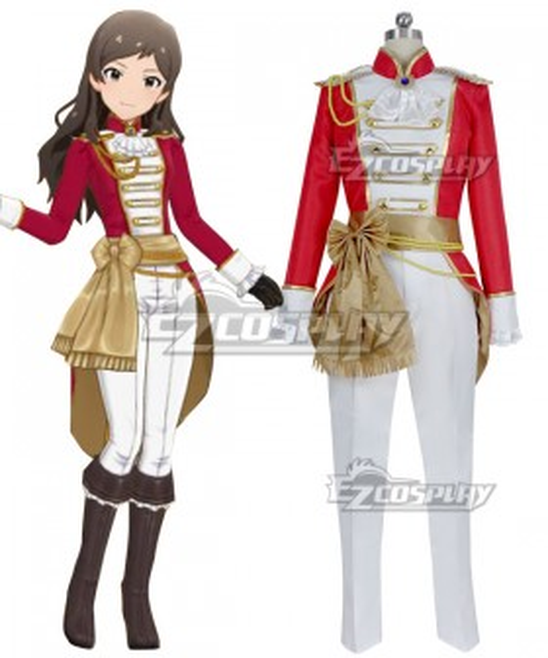 The Idolm@Ster: Cinderella Girls Shiho Kitazawa Opera Seria Kiramekiza Cosplay Costume