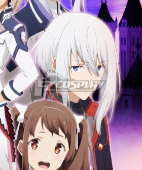 The Misfit of Demon King Academy Maou Gakuin Ray Gransdori Silver Cosplay Wig