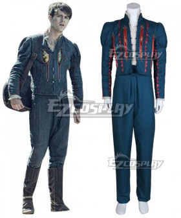 The Witcher Netflix Dandelion Julian Alfred Pankratz Jaskier Cosplay Costume