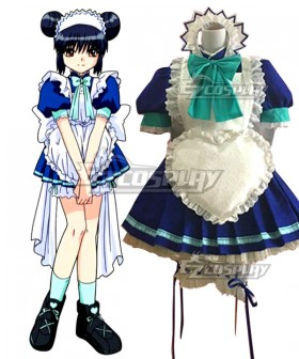 Tokyo Mew Mew Minto Aizawa Maid Cosplay Costume