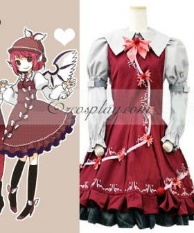 Touhou Project Mystia Lorelei cosplay costume