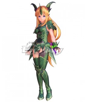 Trials of Mana Riesz Dragon Master Cosplay Costume