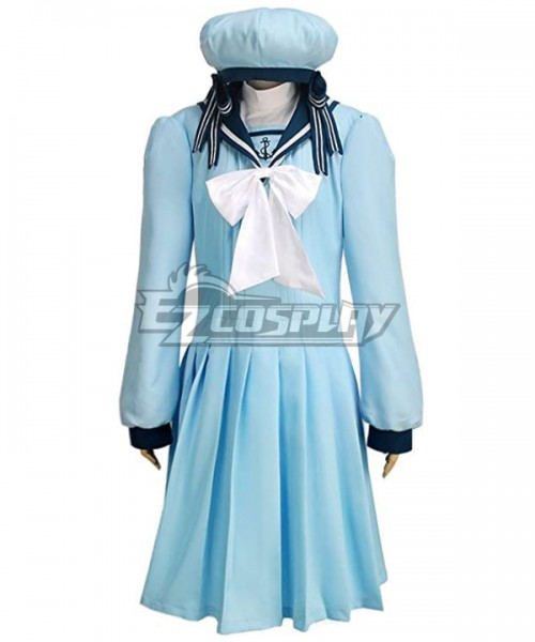 New! Black Butler Elizabeth Midford Blue cosplay costume  Dress