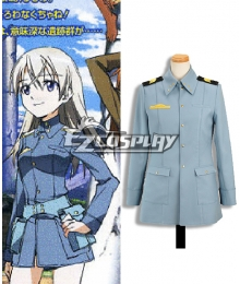 STRIKE WITCHES Eila·Ilmatar·juutilainen Cosplay Coat
