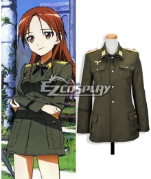 STRIKE WITCHES Minna·Dietrich·Wilcke Cosplay Coat