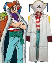 One Piece Joker Buggy Cosplay Costume