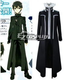 Sword Art Online (Extra Edition) Kirito Cosplay Costume