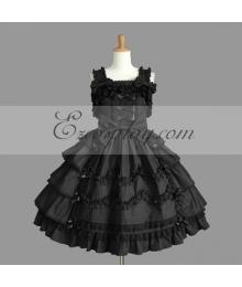 Black Gothic Lolita Dress -LTFS0103