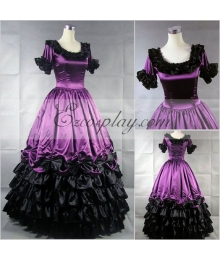 Roseo Short Sleeve Gothic Lolita Dress-LTFS0109