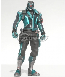 Overwatch OW Soldier 76 Venom Skin John Jack Morrison Cosplay Costume
