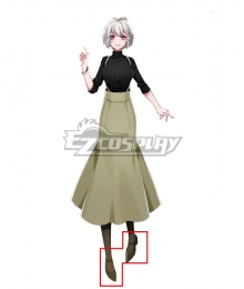 Hypnosis Mic Division Rap Battle Nemu Aohitsugi Brown Shoes Cosplay Shoes