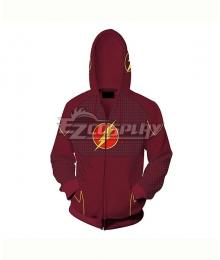 DC Comics The Flash Barry Allen Coat Hoodie Cosplay Costume