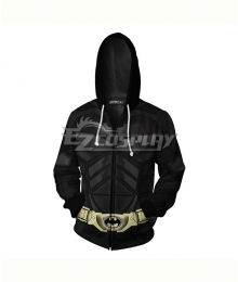 DC Comics Batman Bruce Wayne Coat Hoodie Cosplay Costume