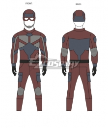 Daredevil meets Captain America! Codename: Glory Cosplay Costume