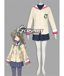 Clannad Hikarizaka Private Senior High School Uniform Cosplay Costume