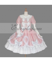Pink Gothic Lolita Dress -LTFS0134